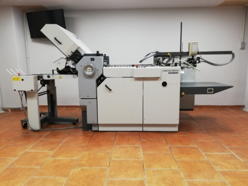 Heidelberg Stahlfolder T52-4