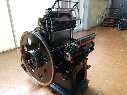 Victoria letterpress machine